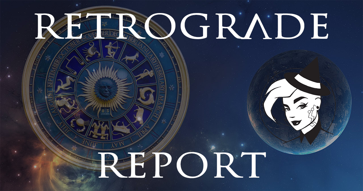 Retrograde Report for 29 November, 2020